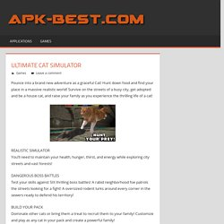 Ultimate Cat Simulator APK Free Download - APK Games Apps Cracked