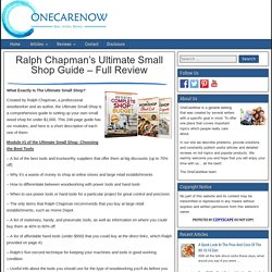 Ultimate Small Shop Reviews