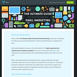 The Ultimate Guide To Successful Email Marketing