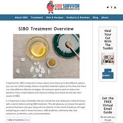 Ultimate SIBO Treatment Guide: Find Out Which Strategy is Best For You!