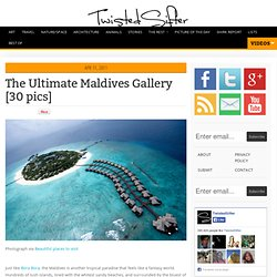 The Ultimate Maldives Gallery [30 pics]