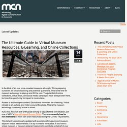 The Ultimate Guide to Virtual Museum Resources