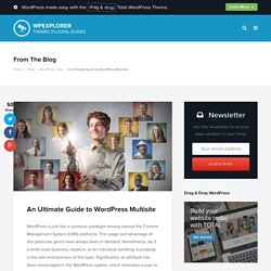 An Ultimate Guide to WordPress Multisite