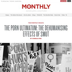 The Dehumanising Effects of Smut The Porn Ultimatum | Cordelia Fine