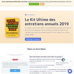 Le Kit Ultime des Entretiens Annuels 2019