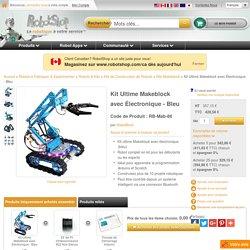 Kit Ultime Makeblock avec Électronique - Bleu
