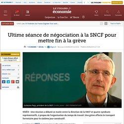 Ultime séance de négociation à la SNCF pour mettre fin à la grève