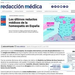 Los últimos reductos médicos de la homeopatía en España