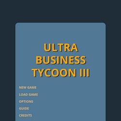 ULTRA BUSINESS TYCOON III