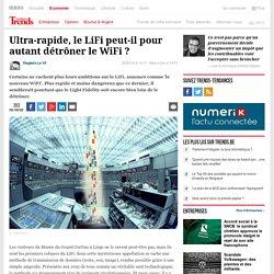 Ultra-rapide, le LiFi peut-il pour autant détrôner le WiFi ? - High-tech