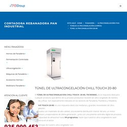TUNEL ULTRACONGELACION PAN TECNOMAC 1 CARRO