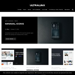 UltraLinx - Stylish Technology & Design