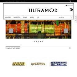 Ultramod Paris, la boutique en ligne - Ultramod, Mercerie de qualité