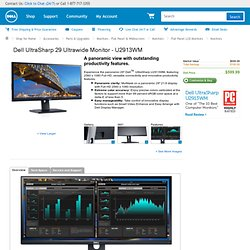 "UltraSharp U2913WM 29"" Ultra-wide monitor"