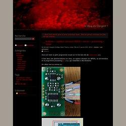 Arduino + capteur ultrason SRF05 + servo + processing = Sonar - le Blog du Clergeot !