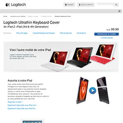 Ultrathin Keyboard Cover - Logitech FR