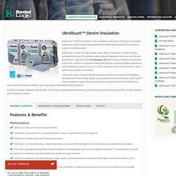 UltraTouch™ Denim Insulation « Bonded Logic