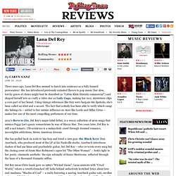 Lana Del Rey 'Ultraviolence' Album Review