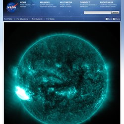 Extreme Ultraviolet Image of a Significant Solar Flare