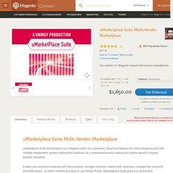 uMarketplace Suite Multi-Vendor Marketplace