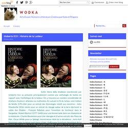 Umberto ECO : Histoire de la Laideur
