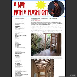 Ryu Umeharu house – Living large in a tiny bungalow « A Man with a Flashlight