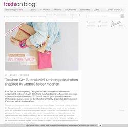 Taschen-DIY Tutorial: Mini-Umhängetäschchen (inspired by Chanel) selber machen DIY - Outfits, Accessoires & Schuhe Dana´s Fashion Blog