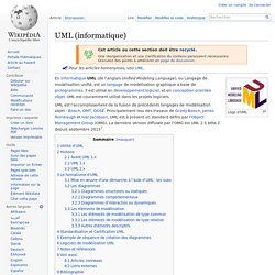 UML (informatique)