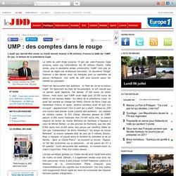 UMP : des comptes dans le rouge