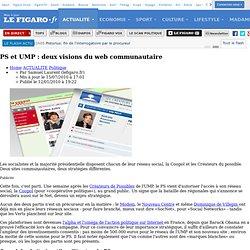 Politique : PS, UMP : le match des réseaux sociaux