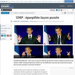 UMP : éparpillée façon puzzle