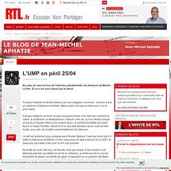 L'UMP en péril 25/04 - Jean-Michel Aphatie