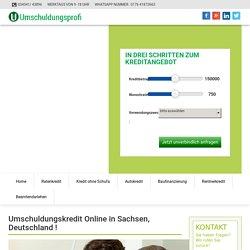 Umschuldungskredit - Lösen Sie Ihren alten Kredit ab - Umschuldungsprofi UG