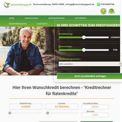 Seniorenkredit - Kredit für Senioren