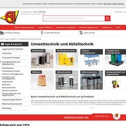 Beste Umwelttechnik und Abfalltechnik von AJ Produkte