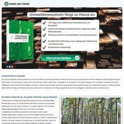 Umweltschutz - einfach umsetzbare Maßnahmen für jeden