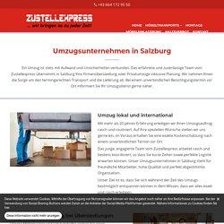 Umzugsunternehmen in Salzburg