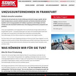 Umzugsunternehmen in Frankfurt - Stark Umzüge