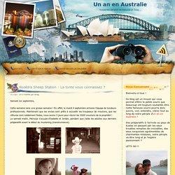 Un an en Australie: septembre 2012