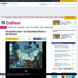 Un barbu sous «La Chambre bleue» de Picasso