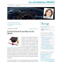 Un bref résumé de ma thèse sur les MOOC