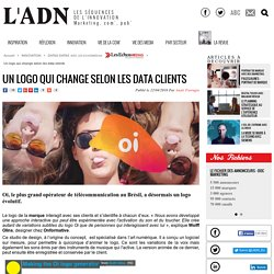 Un logo qui change selon les data clients - DATAS DATAS