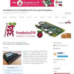 Un cluster de 16 Raspberry Pi Zero