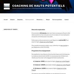 Un coach en douance, combien ça coûte?
