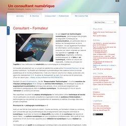 Un consultant numérique