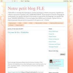 Notre petit blog FLE: Un conte de fées : Cendrillon