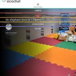 Un éléphant dans le CPE
