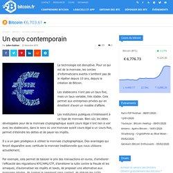 Un euro contemporain