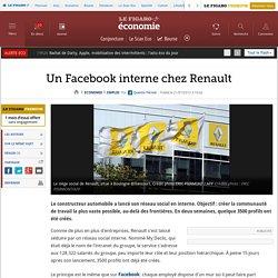 Un Facebook interne chez Renault