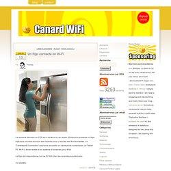 Un frigo connecté en Wi-Fi